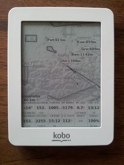 XCSoar on Kobo Mini